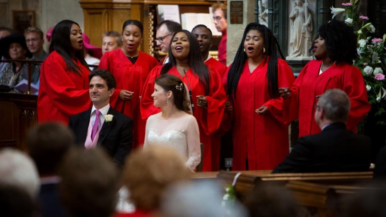 gospel choir weddings
